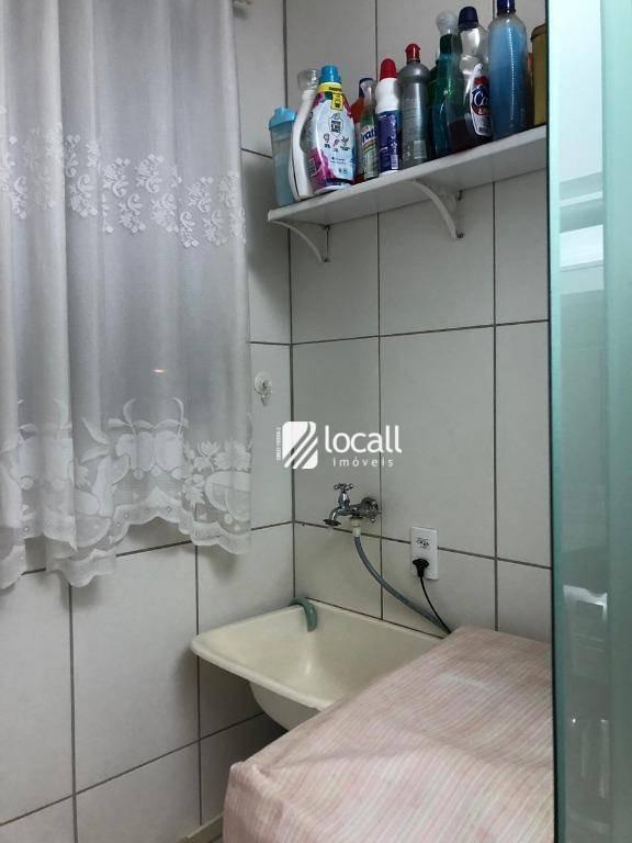 apartamento com 2 dormitórios à venda, 97 m² por r$ 250.000 - jardim yolanda - são josé do rio preto/sp - ap1846