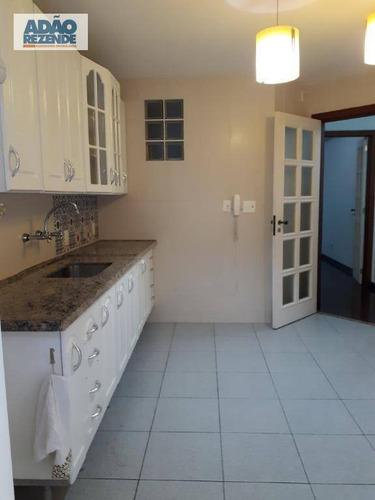 apartamento com 2 dormitórios à venda, 97 m²  várzea - teresópolis/rj - ap1573