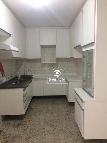 apartamento com 2 dormitórios à venda, 98 m² por r$ 395.000 - santa maria - são caetano do sul/sp - ap11275