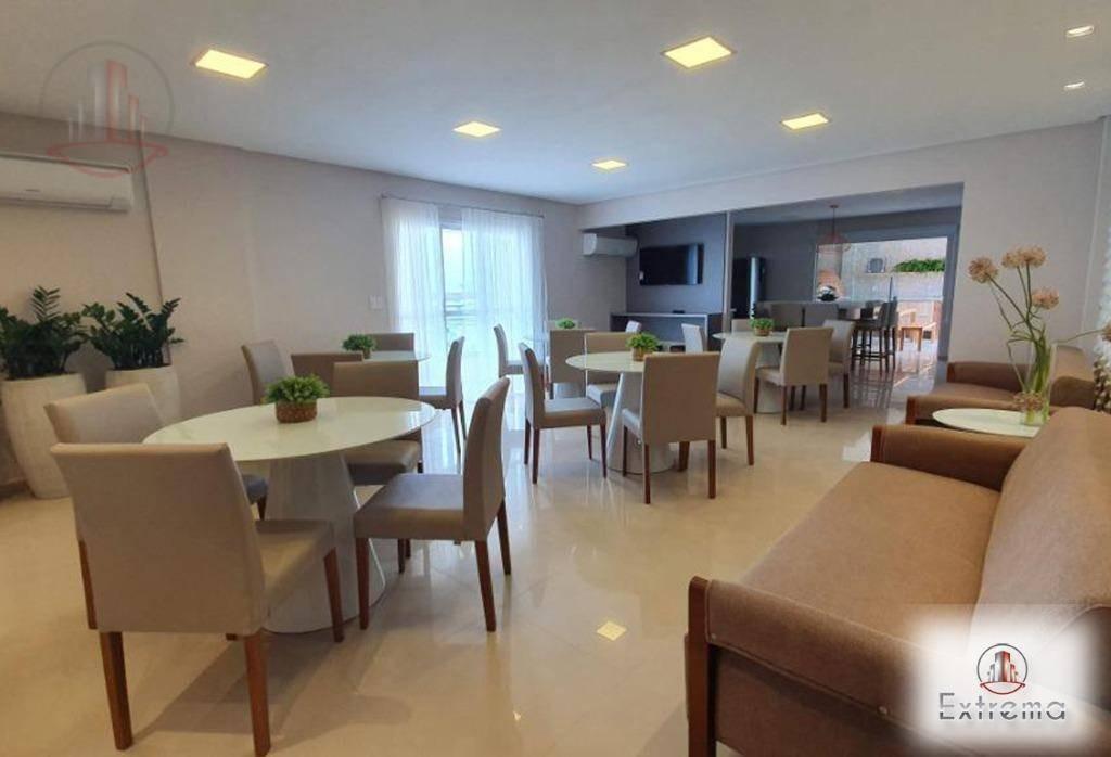 apartamento com 2 dormitórios à venda, 99 m² por r$ 509.900,00 - aviação - praia grande/sp - ap1193