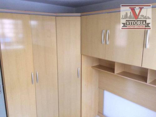 apartamento com 2 dormitórios à venda - campo comprido - curitiba/pr prox da uniandrade, no final do bairro santa quitéria e inicio do bairro campo co - ap1379