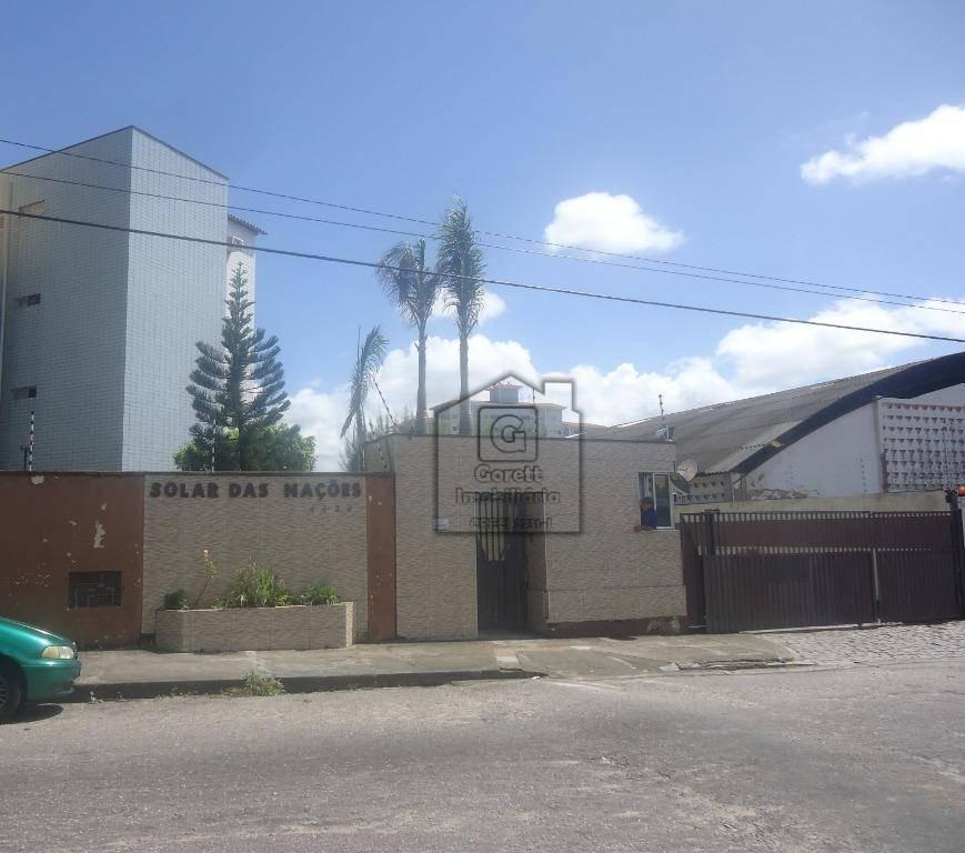 apartamento com 2 dormitórios à venda e locação, 58 m² por r$ 118.000 - cidade da esperança - natal/rn lv1060 - ap0415