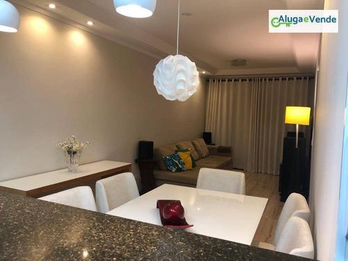 apartamento com 2 dormitórios à venda em guarulhos, 65 m² por r$ 310.000 - picanco - guarulhos/sp - ap0065