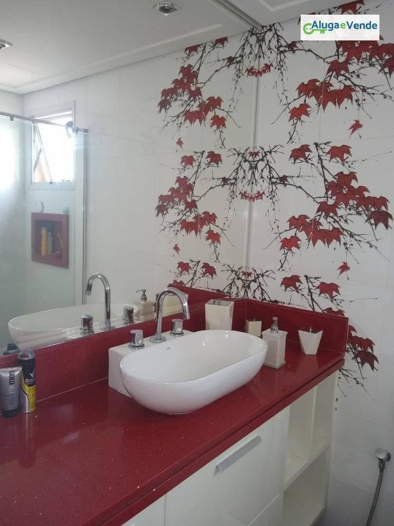apartamento com 2 dormitórios à venda no condomínio parque clube por r$ 600.000 - vila augusta - guarulhos/sp - ap0068