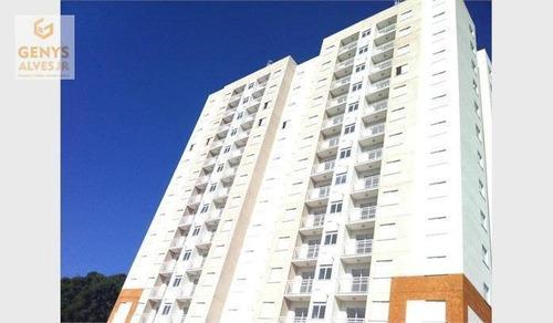 apartamento com 2 dormitórios à venda ou locação 48 m² por r$ 199.000 - colônia itaquera(zona leste) - são paulo/sp - ap1370