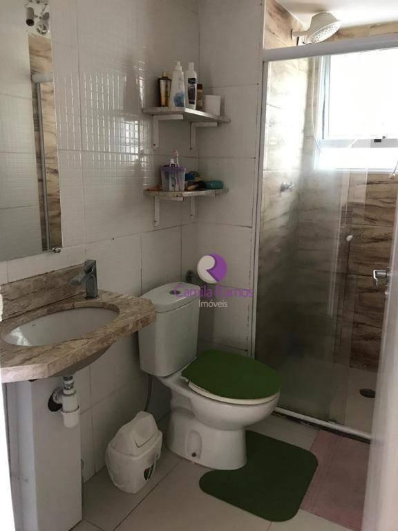 apartamento com 2 dormitórios à venda- parque santa rosa - suzano/sp - ap0772