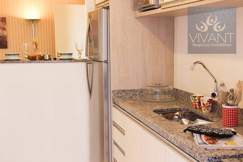 apartamento com 2 dormitórios à venda por r$ 250.000,00 - parque santa rosa - suzano/sp - ap0143