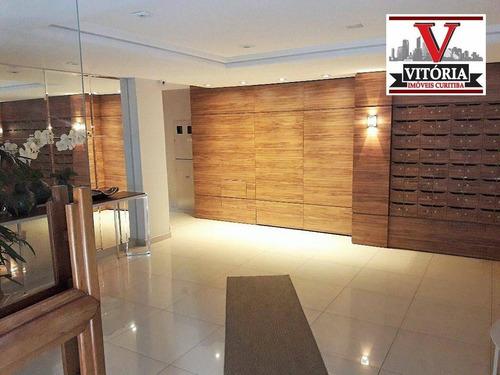 apartamento com 2 dormitórios à venda - portão - curitiba/pr prox do colégio pedro macedo, shopping palladium, posto de combustível, mercado, colégio - ap1393