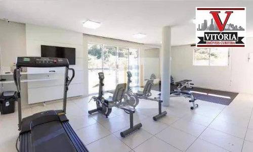 apartamento com 2 dormitórios à venda r$ 196.000 - santa quitéria - curitiba/pr - ap1407
