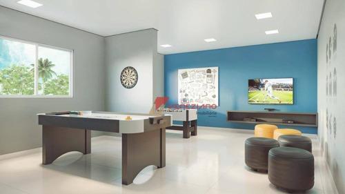 apartamento com 2 dormitórios à venda, sendo uma suíte, 67m²  por r$ 371.838 alemães - piracicaba/sp - ap0416