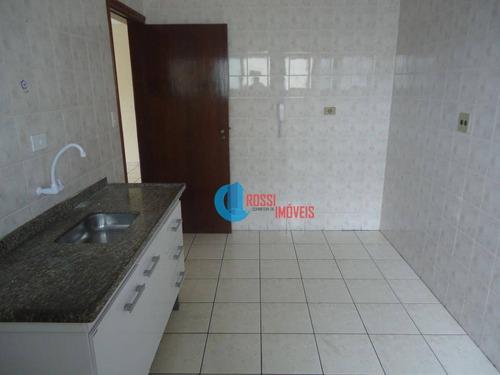 apartamento com 2 dormitórios(vssta livre) e sacada na guilhermina perto do extra e carrefour - ap1109