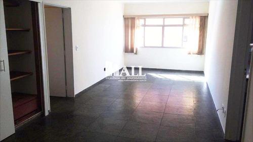 apartamento com 2 dorms, 1 suíte, 1 vg, são josé do rio preto - v395