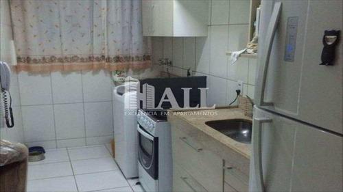 apartamento com 2 dorms, 1 vg, sacada, são josé do rio preto - v1371