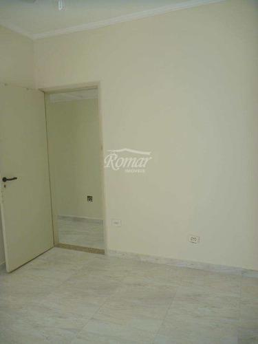 apartamento com 2 dorms, aparecida, santos, cod: 469 - a469