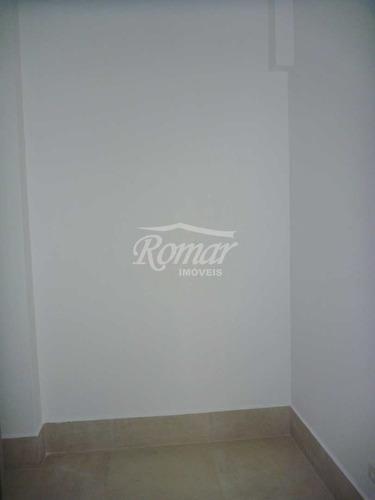 apartamento com 2 dorms, aparecida, santos, cod: 550 - a550
