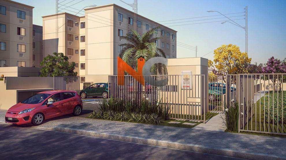 apartamento com 2 dorms, banco de areia, mesquita - r$ 132.000,00, 44m² - codigo: 156 - v156