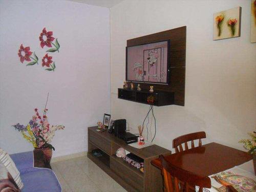 apartamento com 2 dorms, boqueirão, praia grande - r$ 180.000,00, 74m² - codigo: 411400 - v411400