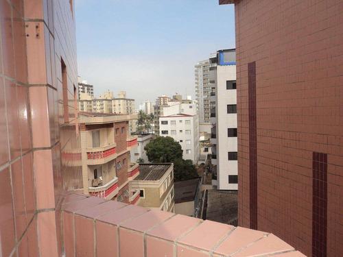 apartamento com 2 dorms, caiçara, praia grande - r$ 280.000,00, 68m² - codigo: 412597 - v412597