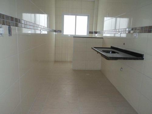 apartamento com 2 dorms, caiçara, praia grande - r$ 326.000,00, 71,9m² - codigo: 412559 - v412559