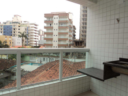 apartamento com 2 dorms, caiçara, praia grande - r$ 340.000,00, 71,9m² - codigo: 412567 - v412567