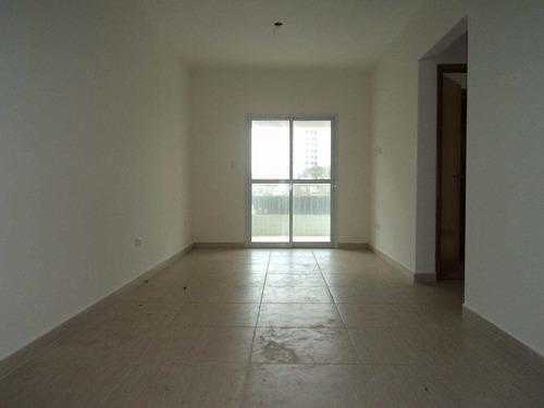 apartamento com 2 dorms, caiçara, praia grande - r$ 345.000,00, 74m² - codigo: 412549 - v412549