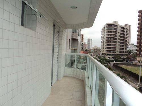 apartamento com 2 dorms, caiçara, praia grande - r$ 346.000,00, 73,12m² - codigo: 412519 - v412519