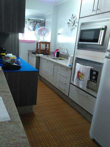 apartamento com 2 dorms, caiçara, praia grande - r$ 350.000,00, 79m² - codigo: 320701 - v320701
