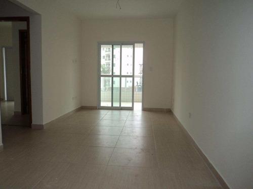 apartamento com 2 dorms, caiçara, praia grande - r$ 353.000,00, 73,12m² - codigo: 412511 - v412511