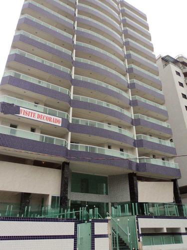 apartamento com 2 dorms, caiçara, praia grande - r$ 357.000,00, 71,9m² - codigo: 412571 - v412571