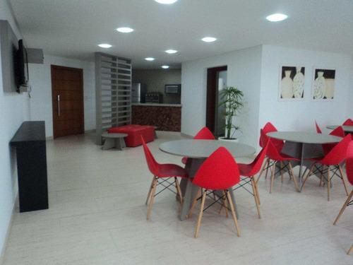 apartamento com 2 dorms, caiçara, praia grande - r$ 405.000,00, 101,63m² - codigo: 412473 - v412473