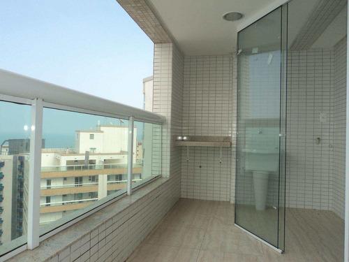 apartamento com 2 dorms, caiçara, praia grande - r$ 525.000,00, 111,98m² - codigo: 412484 - v412484