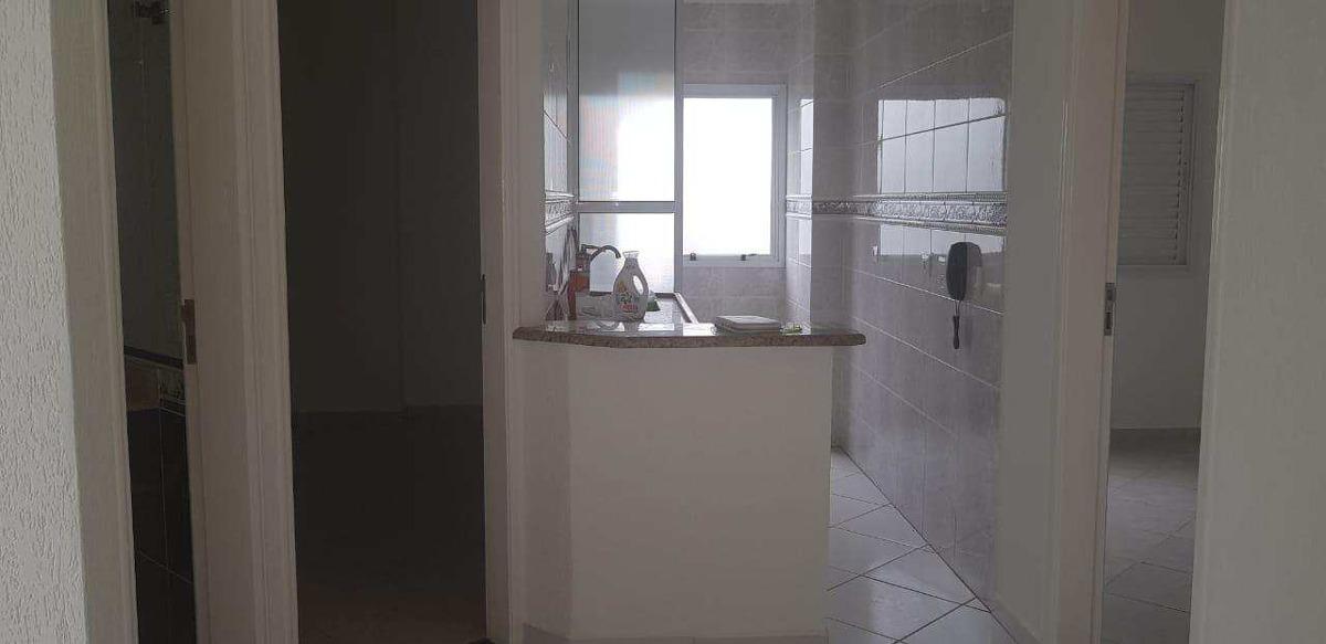 apartamento com 2 dorms, canto do forte, praia grande, 55m² - codigo: 462 - a462