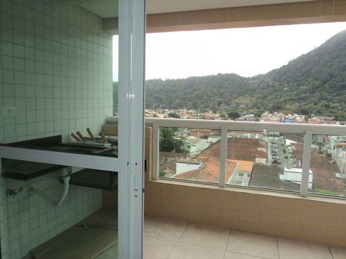 apartamento com 2 dorms, canto do forte, praia grande - r$ 340.000,00, 63m² - codigo: 412624 - v412624