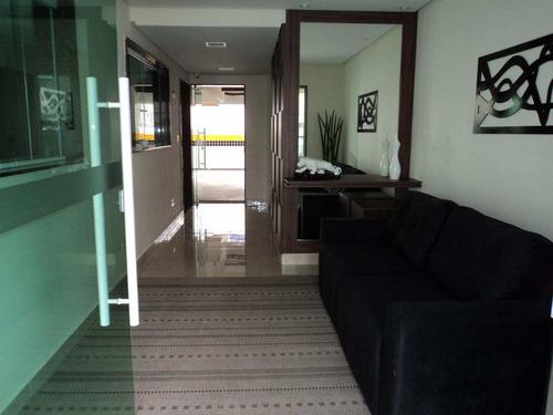 apartamento com 2 dorms, canto do forte, praia grande - r$ 420.000,00, 86m² - codigo: 412618 - v412618