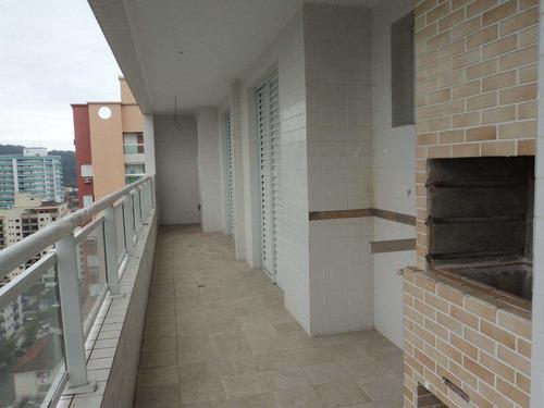 apartamento com 2 dorms, canto do forte, praia grande - r$ 435.000,00, 95,2m² - codigo: 412710 - v412710