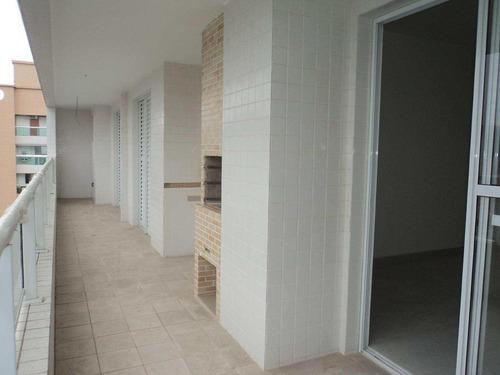 apartamento com 2 dorms, canto do forte, praia grande - r$ 440.000,00, 95,24m² - codigo: 412711 - v412711