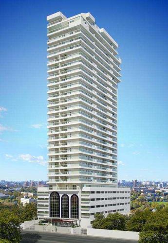apartamento com 2 dorms, canto do forte, praia grande - r$ 522.000,00, 103,38m² - codigo: 412780 - v412780