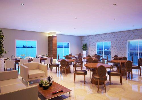 apartamento com 2 dorms, canto do forte, praia grande - r$ 604.000,00, 98,44m² - codigo: 412844 - v412844