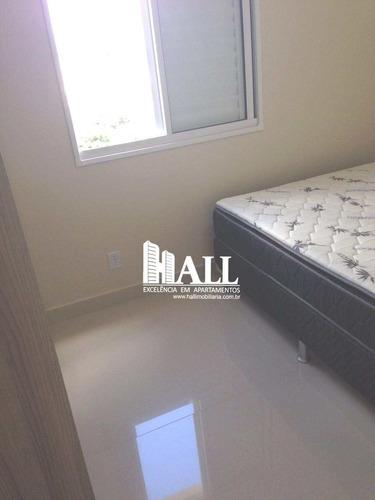 apartamento com 2 dorms, elevador, 1 vg, são josé do rio preto - v1339