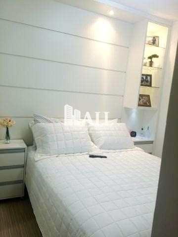 apartamento com 2 dorms, elevador, 1 vg, são josé do rio preto - v954