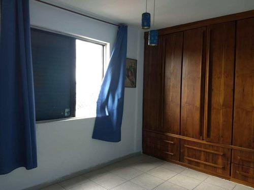 apartamento com 2 dorms, estuário, santos - r$ 320 mil, - v757