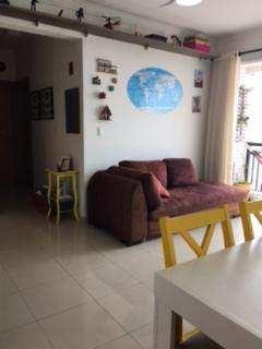 apartamento com 2 dorms, estuário, santos - r$ 360 mil, cod: 810 - v810