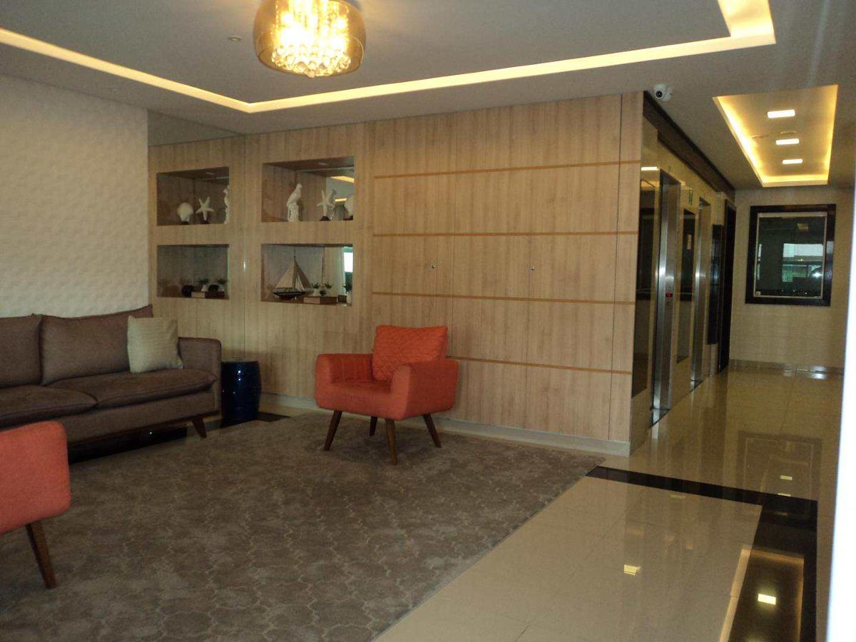 apartamento com 2 dorms, guilhermina, praia grande - r$ 400.000,00, 92,9m² - codigo: 412628 - v412628