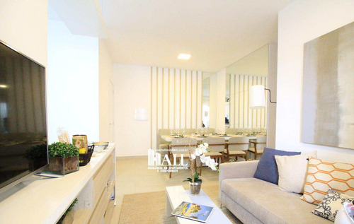 apartamento com 2 dorms, jardim fuscaldo, são josé do rio preto, cod: 3851 - v3851