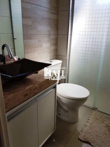 apartamento com 2 dorms, jardim nazareth, são josé do rio preto - r$ 189.000,00, 59m² - codigo: 1063 - v1063