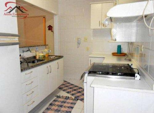 apartamento com 2 dorms, jardim praiano, guarujá - r$ 250.000,00, 70m² - codigo: 474 - v474