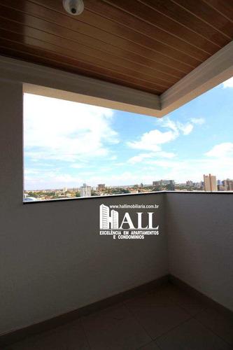 apartamento com 2 dorms, jardim redentor, são josé do rio preto - r$ 318.000,00, 68m² - codigo: 3797 - v3797