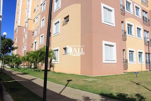 apartamento com 2 dorms, jardim santa rosa i, são josé do rio preto - r$ 207.000,00, 61m² - codigo: 2882 - v2882