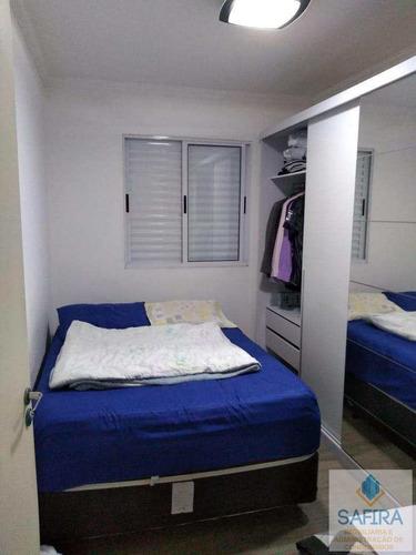 apartamento com 2 dorms, jardim são miguel, ferraz de vasconcelos - r$ 190 mil, cod: 982 - v982