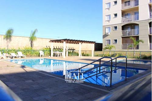 apartamento com 2 dorms, jardim tarraf ii, são josé do rio preto - r$ 281 mil, cod: 387 - v387